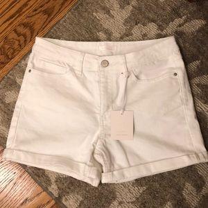 Lauren Conrad white shorts